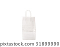 Recycled paper shopping bag 31899990