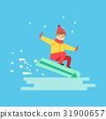 snowboarder, boy, snowboard 31900657