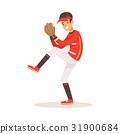 運動 棒球 投手 31900684