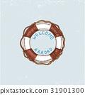 벡터, 구명, 부표 31901300