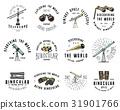 Binocular logo emblem or label astronomical 31901766