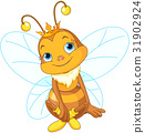 Cute Queen Bee 31902924