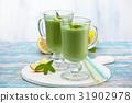 spinach, smoothie, milkshake 31902978