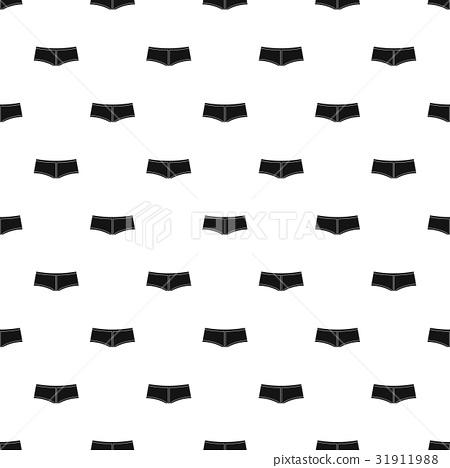 Boyshorts pattern vector 31911988