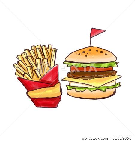 burger, burgers, hamburger 31918656
