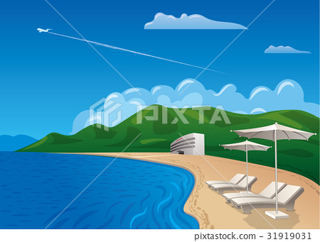 beach resort journey 31919031