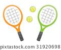 網球 矢量 網球拍 31920698