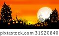 halloween, pumpkin, ghost 31920840