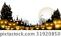 halloween, pumpkin, ghost 31920850