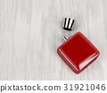 Red perfume bottle 31921046