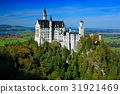 Fairy tale Neuschwanstein Castle, Bavaria, Germany 31921469