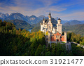 Famous fairy tale Neuschwanstein Castle in Bavaria 31921477