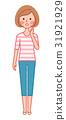 一个脸红的女人 31921929