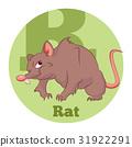 老鼠 卡通 向量 31922291