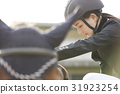 骑马的妇女 31923254