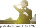 여성, 햇빛, 사람 31923297