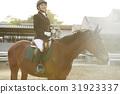 骑马的妇女 31923337