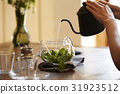 草本茶 茶壺 茶點 31923512