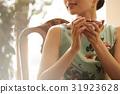 一個女人享受茶 31923628
