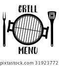 grill menu symbol 31923772