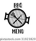 grill menu symbol 31923820