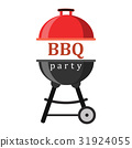 bbq, icon, party 31924055