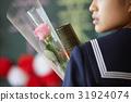 畢業學校女孩畫像 31924074