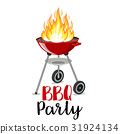 bbq, barbeque, poster 31924134