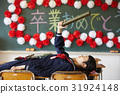 畢業學校女孩畫像 31924148