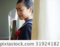 毕业教室泪流满面的女性肖像 31924182