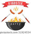 bbq, barbeque, vector 31924554