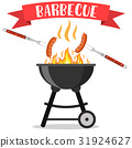 bbq, barbeque, vector 31924627