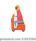 小型摩托车 摩托车 矢量 31925568