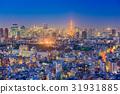 Tokyo, Japan Aerial View 31931885