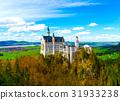 新天鵝堡 城堡 建築 31933238