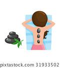 stone, spa, woman 31933502