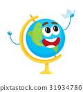 globe, school, character 31934786