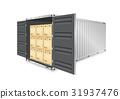 盒子 箱子 货物 31937476