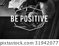 Happiness Delightful Smile Positivity Graphic Word 31942077