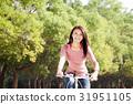 女孩 少女 自行車 31951105