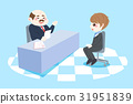 businessman with interview concept 31951839