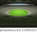 cricket, seats, stadium 31956352