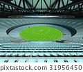 cricket, seats, sky 31956450