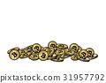 硬幣 錢幣 符號 31957792