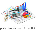 calculator, finance, accounting 31958033