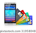 Mobile banking and finance concept 31958048