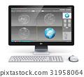 computer, desktop, workstation 31958064