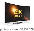 tv screen 4k 31958078
