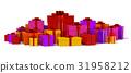 礼物 盒子 箱子 31958212