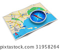 GPS navigation, travel and tourism concept 31958264